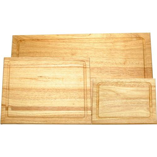 Farberware 3-Piece Hardwood Cutting Board Set