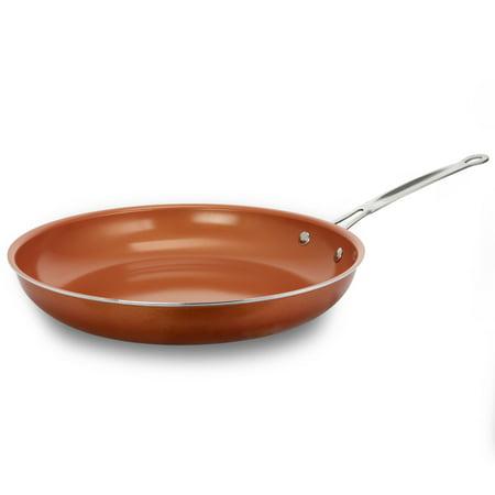 Ceramic Coated Copper Non Stick 12 Quot Frying Pan Walmart Com