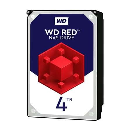 WD Red 4TB NAS Hard Disk Drive - 5400 RPM Class SATA 6Gb/s 64MB Cache 3.5 Inch - (Best 8 Bay Nas)