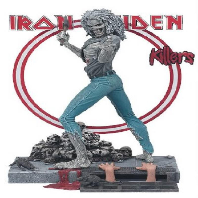 Mcfarlane Toys Iron Maiden EDDIE from Killers Action Figure