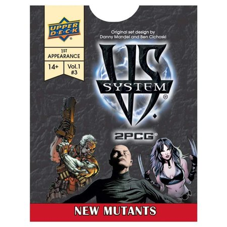 VS System 2PCG: New Mutants, VS System New Mutants brings 55 new cards t the game with the final Issue of the First Appearance arc! By Upper Deck (Art Game Cards)