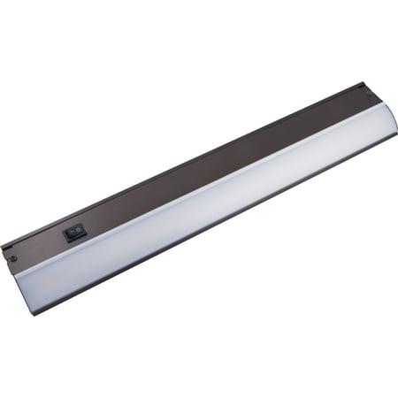GE Premium Direct Wire LED Under Cabinet Light Fixture, 24in, Oil-Rubbed Bronze, 38889-T1 Bronze Under Cabinet Light