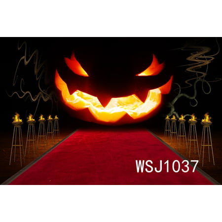 GreenDecor Polyster 7x5ft Halloween Party Photography Backdrop Background Photo Background Studio Prop