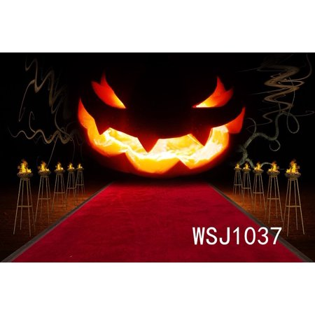 GreenDecor Polyster 7x5ft Halloween Party Photography Backdrop Background Photo Background Studio Prop](Studio Halloween Props)