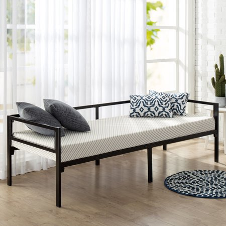 Mainstays Quick Lock Steel Support Daybed with Memory Foam Mattress