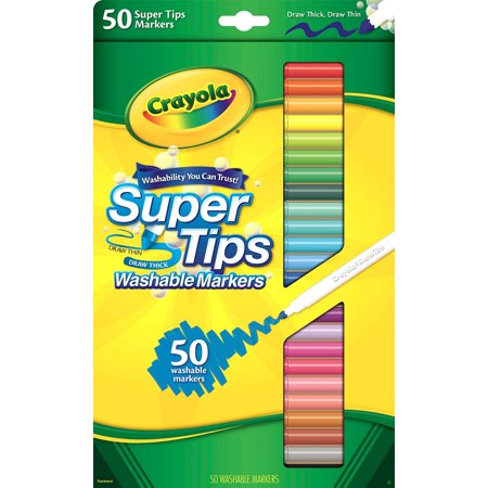 Crayola Supertip Fine Line Markers  50 Pack
