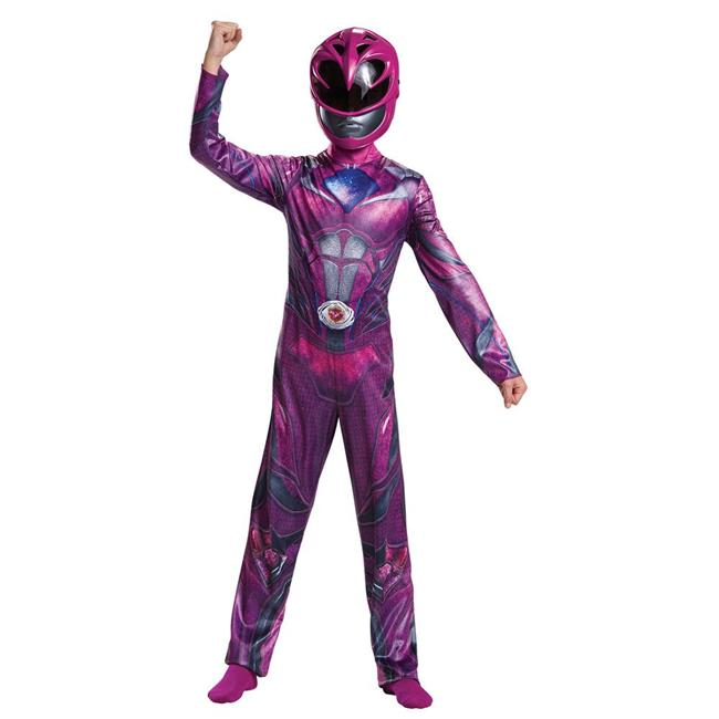 Morris DG19035K 2017 Pink Ranger Classic Child Costume - 7-8 - image 1 of 1