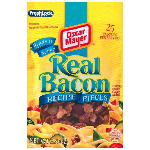 Oscar Mayer Bacon/Breakfast Sausage Real Bacon Bits Ready To Serve, 2.8 oz