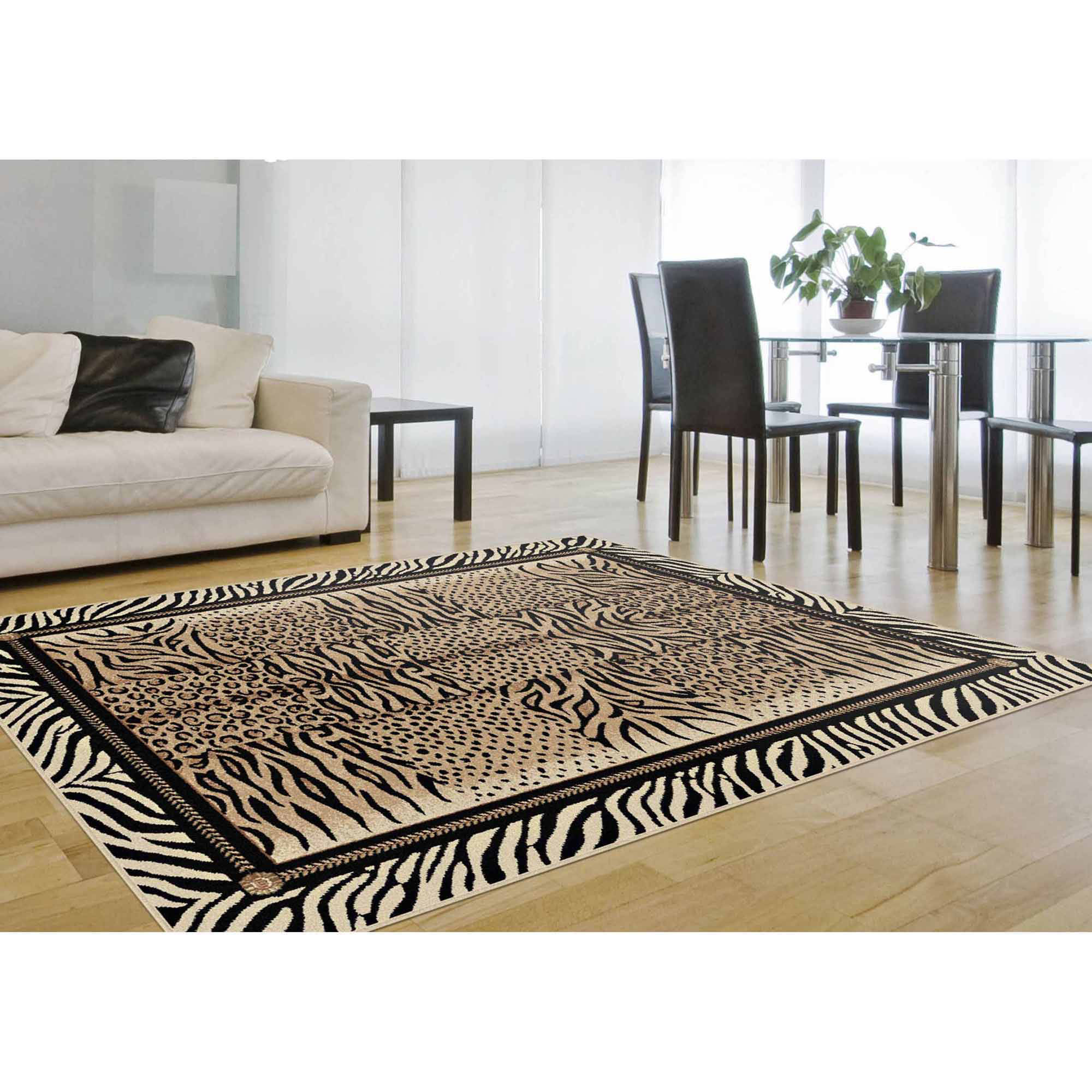 Bliss Rugs Serena Contemporary Area Rug