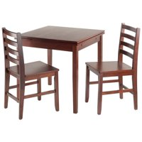 Pulman 3-Pc Set Extension Table w/ 2 Ladder Back Chairs
