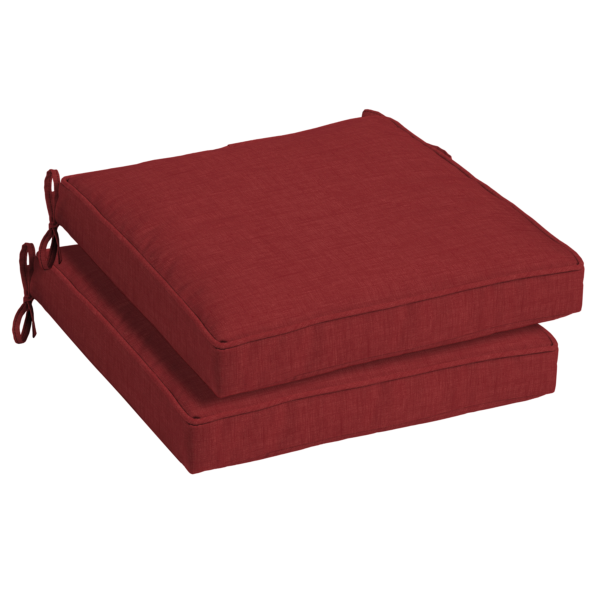 Arden Selections Ruby Leala 21 x 21 in. Outdoor Dining Seat Cushion, Set of 2