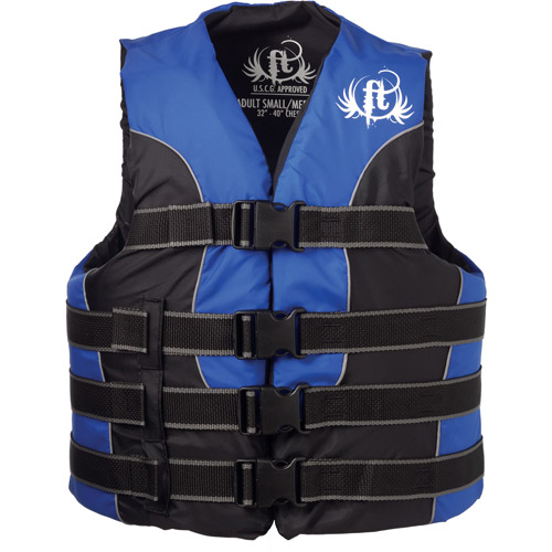 Kent Marine 4771-9335 Small/Medium Blue & Black Nylon Ski Vest