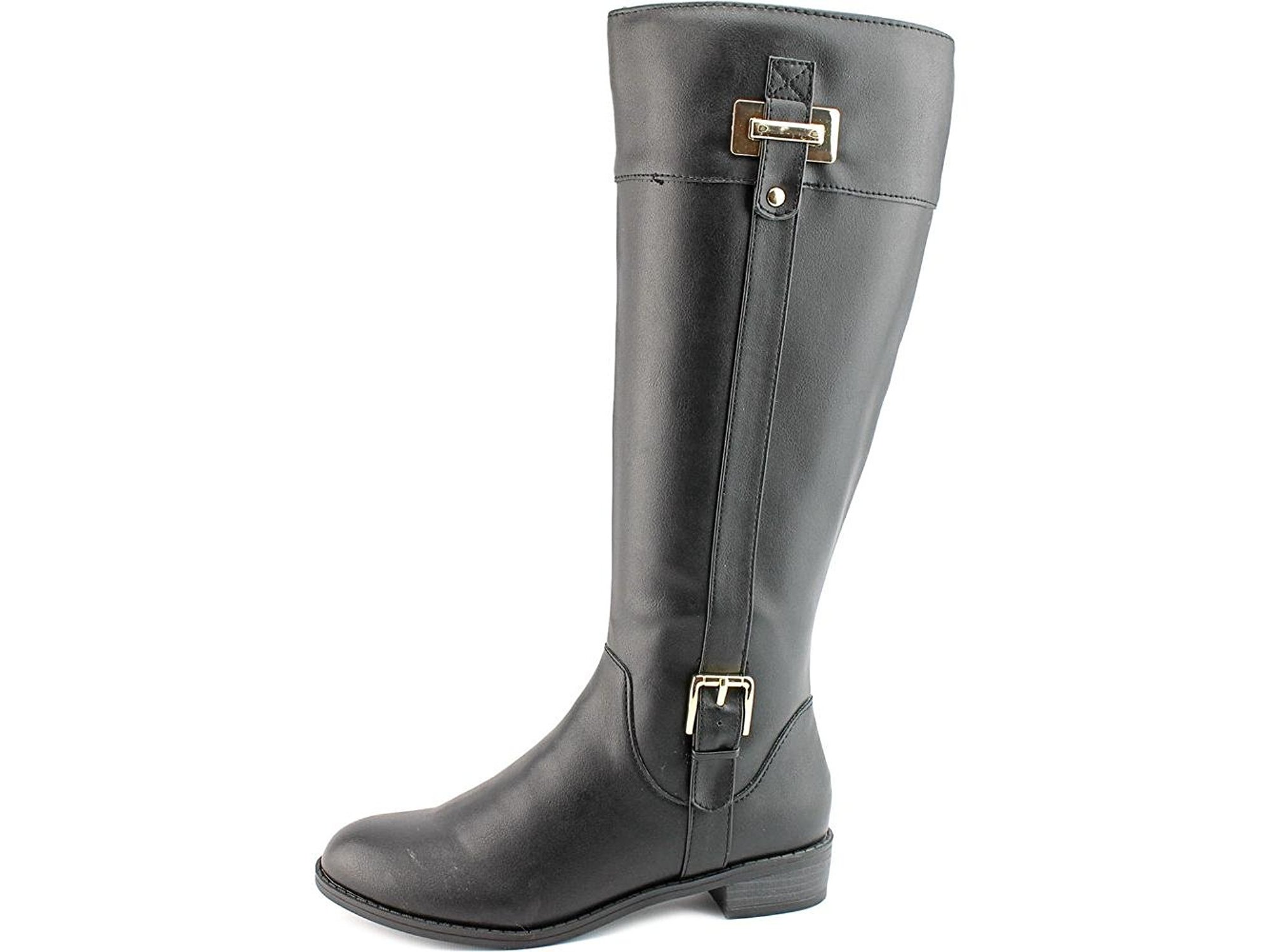3be6f243ab8b Karen Scott Womens Deliee Round Toe Knee High Riding Boots