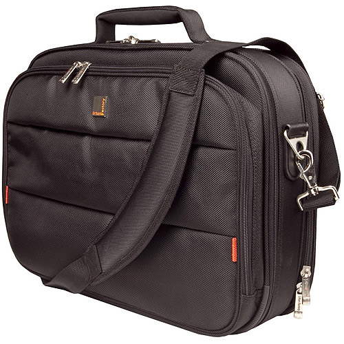 """Urban Factory 13.3"""" City Classic Case with Documents Holder, Black"""