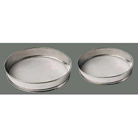 Stainless Steel Sieve With Rim/Mesh - 16