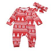 Christmas Family Matching Pyjamas Set Baby Boy Girl Sleepwear Nightwear Gifts
