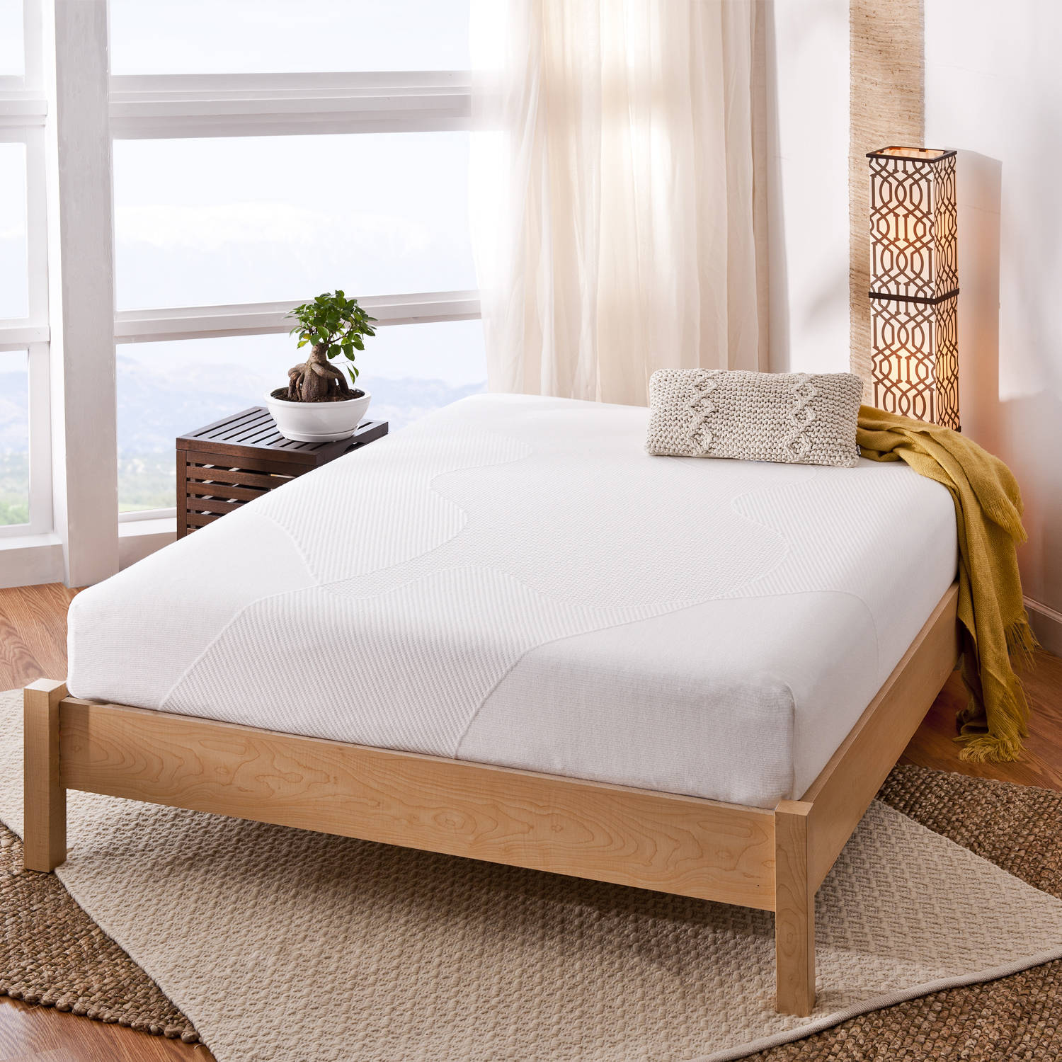 Spa Sensations 10 Memory Foam Mattress Walmartcom