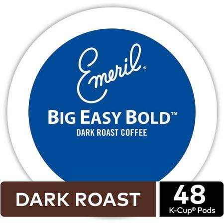 Big Train Chocolate Coffee - Emeril's Big Easy Bold Keurig K-Cup Coffee Pods, Dark Roast, 48 Count