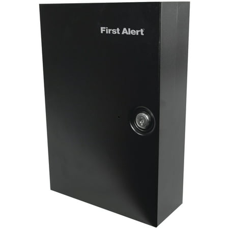 First Alert Steel Wall Mount Key Cabinet with Key Lock, 3060F - Key Cabinet Key Lock