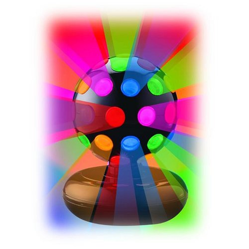 "Creative Motion 6"" Rotating Disco Ball Light with Multi Colors"