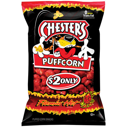Frito Lay Chesters  Puffed Corn Snacks, 5.5 oz
