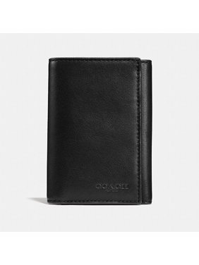 26d789bc3a2 Product Image Coach Men F23845 Trifold Wallet Black