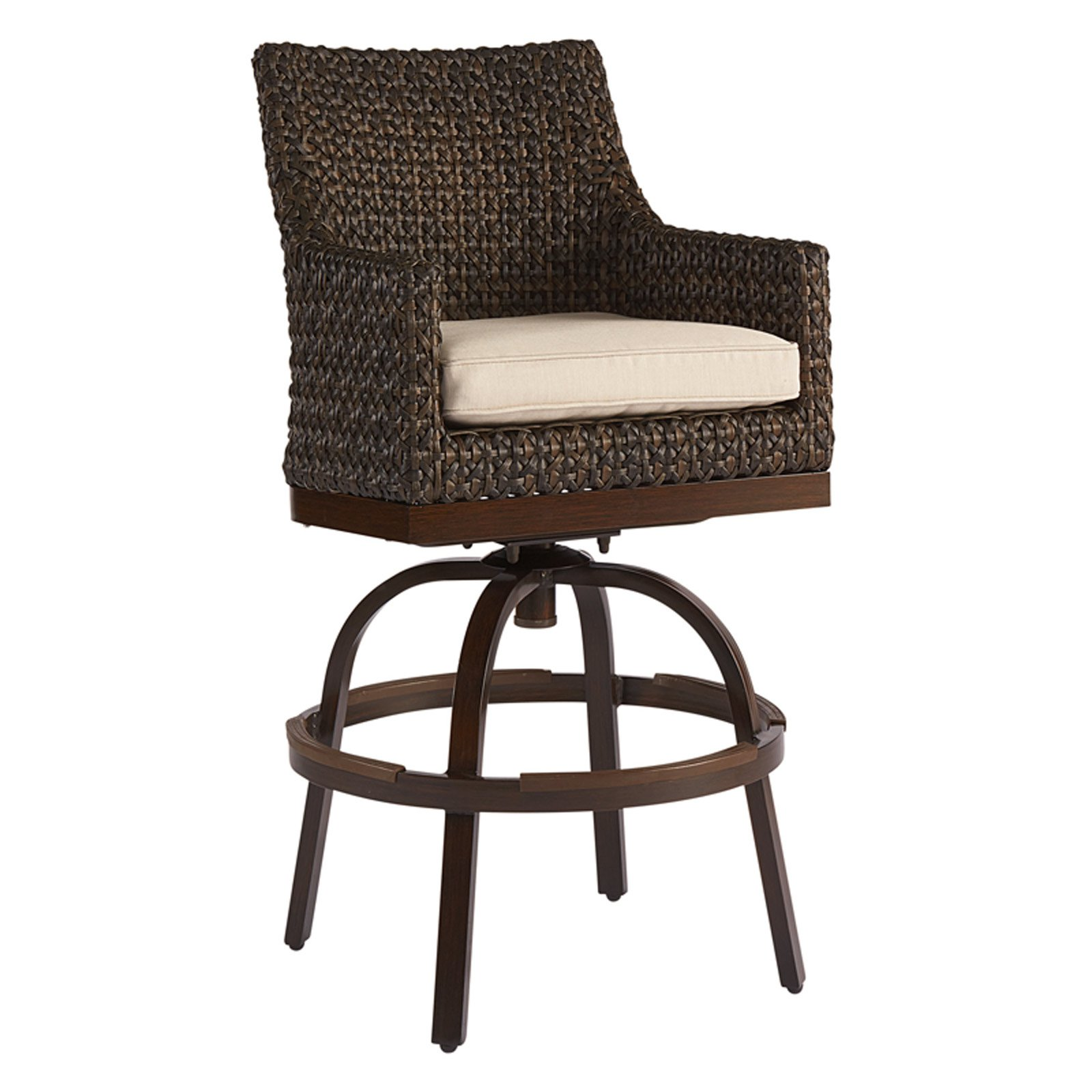 A.R.T. Furniture Epicenters Outdoor Franklin Wicker Bar Stool