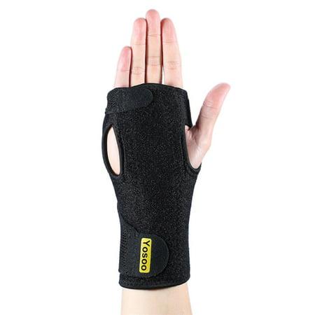 1pc Wrist Hand Brace Night Sleep Adjustable Neoprene Wrist Splint for Carpal Tunnel Syndrome Left or Right Hand