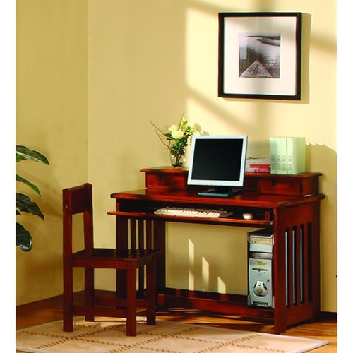 American Furniture Classics Solid Pine Desk with Hutch