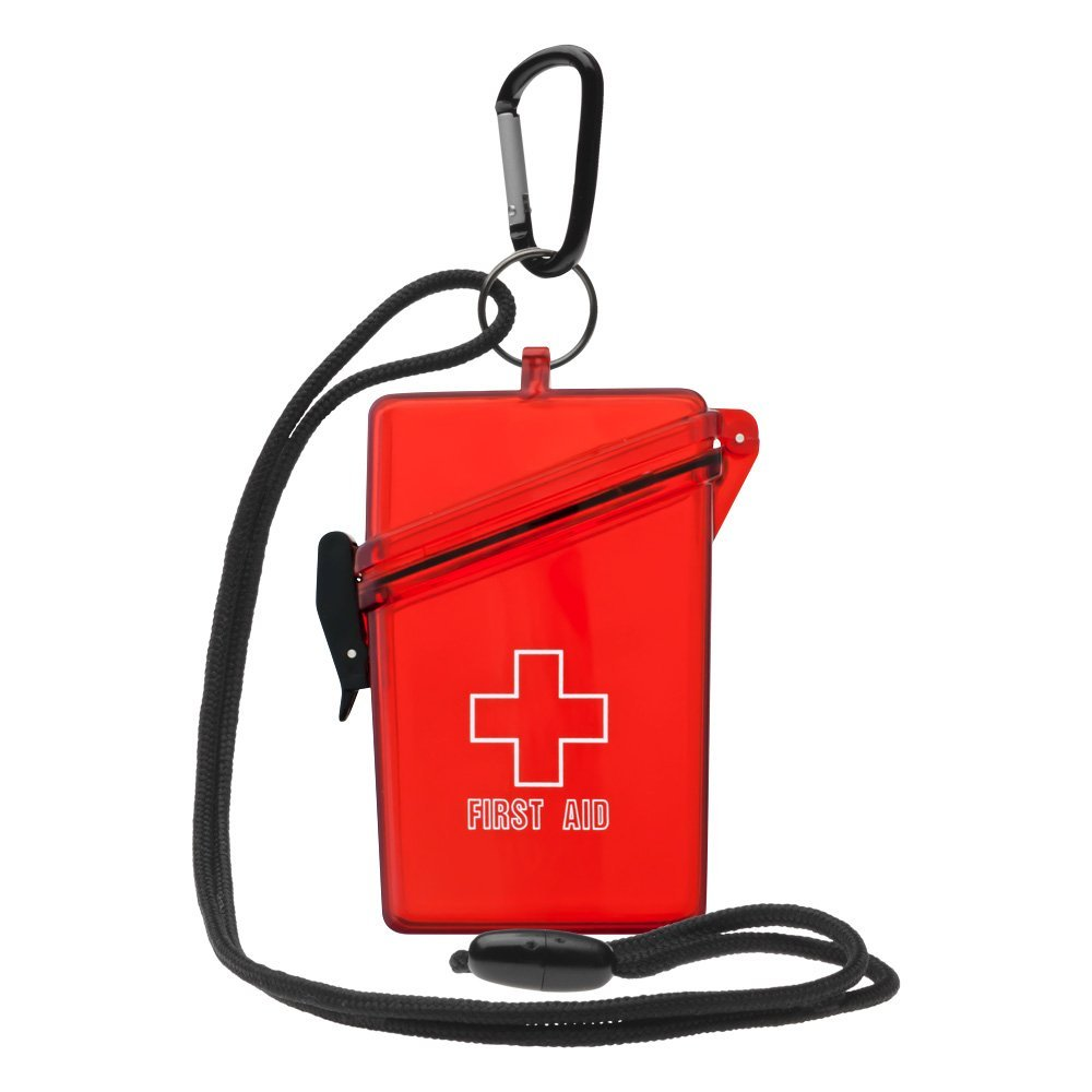 Waterproof First Aid Kit, Clear Red, The Leading waterproofing products for you adventure By Witz