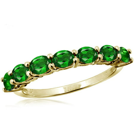 JewelersClub 1.33 Carat T.G.W. Chrome Diopside Gemstone Ring