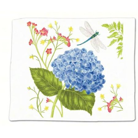 Hydrangea Flour Sack Towel Single