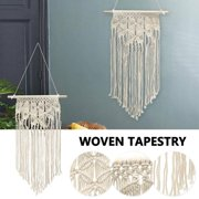 Handcraft Decor Macrame Wall Hanging Woven Wall Art Macrame Tapestry
