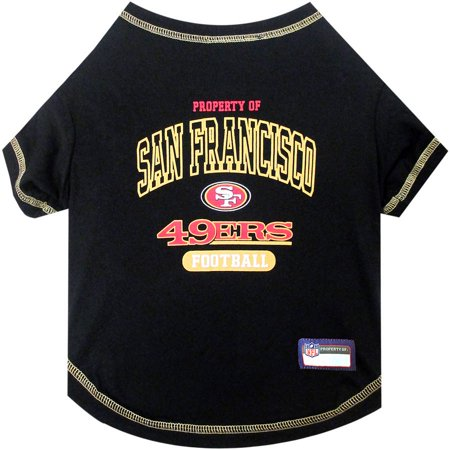 Pets First NFL San Francisco 49ers Pet T-shirt, Assorted Sizes