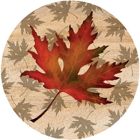 Thirstystone Drink Coasters Set, Maple Leaf
