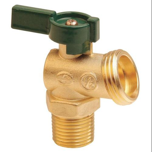 GGS-2VRP8 Boiler Drain Valve, Quarter Turn, 3/4 In