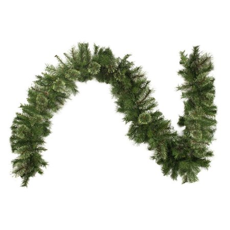 Northlight 9 ft. Mixed Cashmere Pine Unlit Christmas Garland - 180 (Mixed Garland)