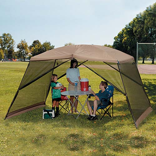 Ozark Trail 12u0027 x 9u0027 Polyester Dome Screen House & Ozark Trail 12u0027 x 9u0027 Polyester Dome Screen House - Walmart.com