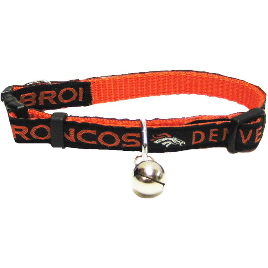 Pets First NFL Denver Broncos Cat Collar