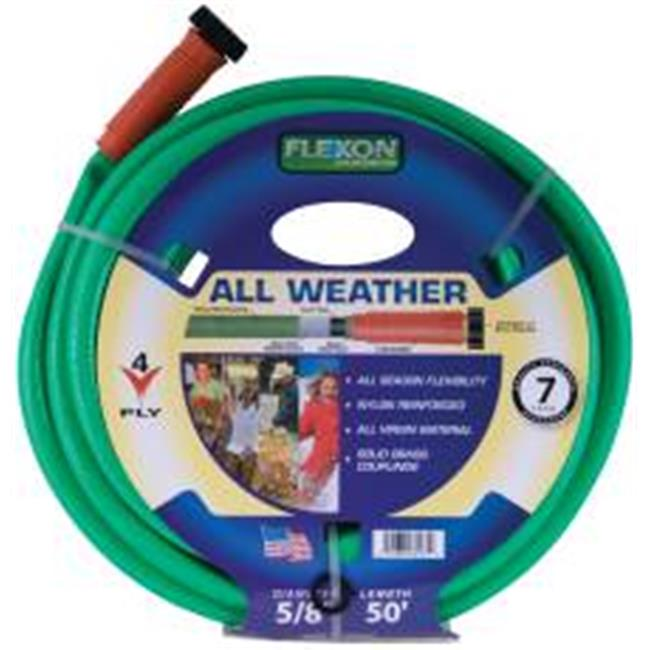 Flexon 11520C Garden Hose .62 In. X 100 Ft. Lead Free