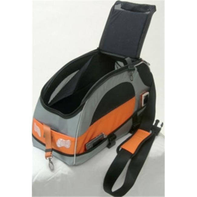 Petego SWB BL Sport Wagon Bag Black Label in Silver With Orange