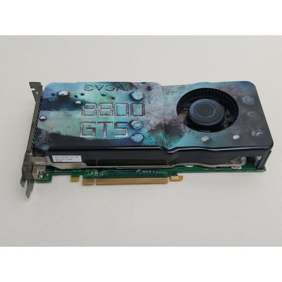 Refurbished EVGA NVIDIA GeForce 8800 GTS 512MB GDDR3 SDRAM
