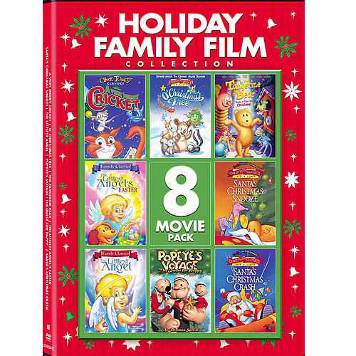 Holiday Family Film Collection (Full Frame)