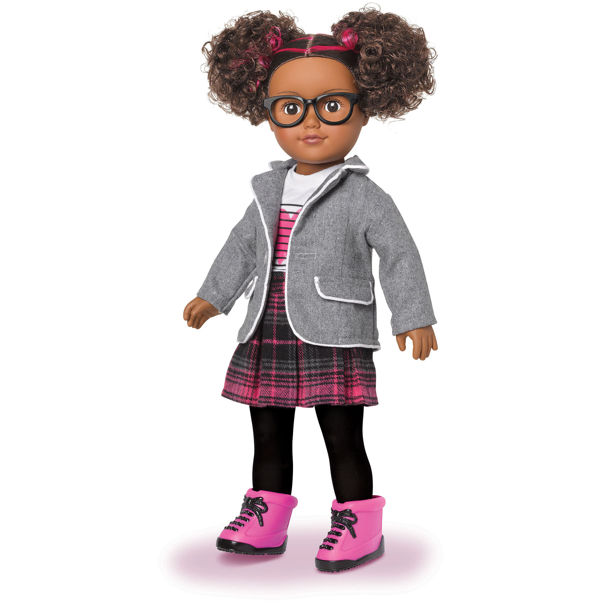 "My Life As School Girl 18"" Doll, African American"