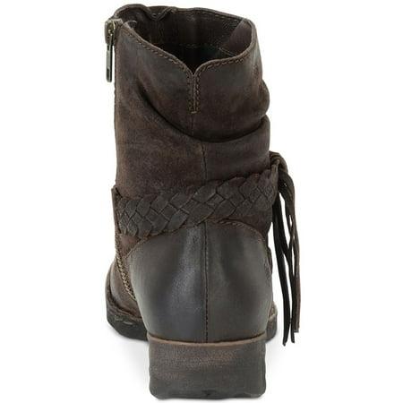 Born Womens Abernath Leather Closed Toe Ankle Fashion (Born Leather Boots)