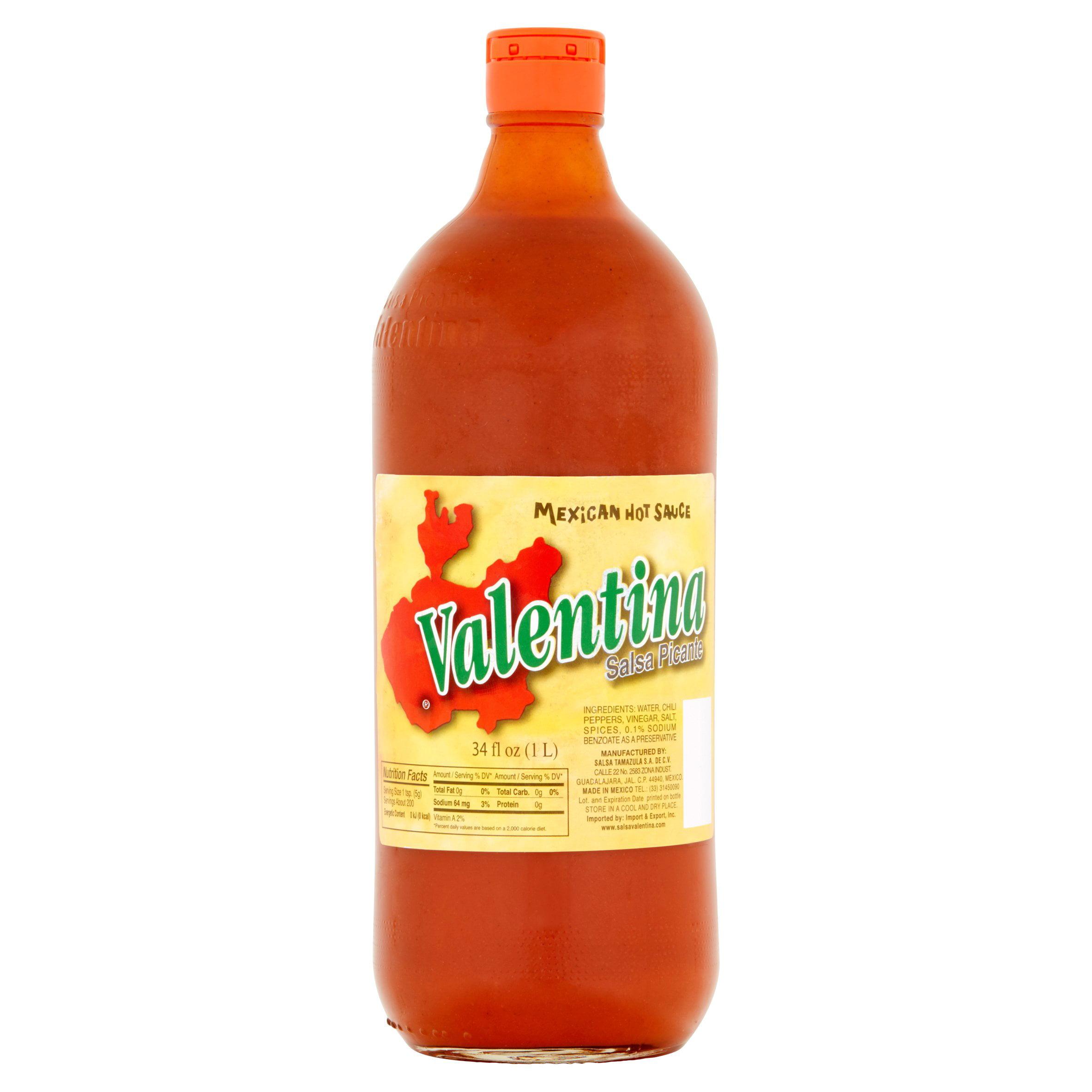Valentina Mexican Hot Sauce, 34 fl oz