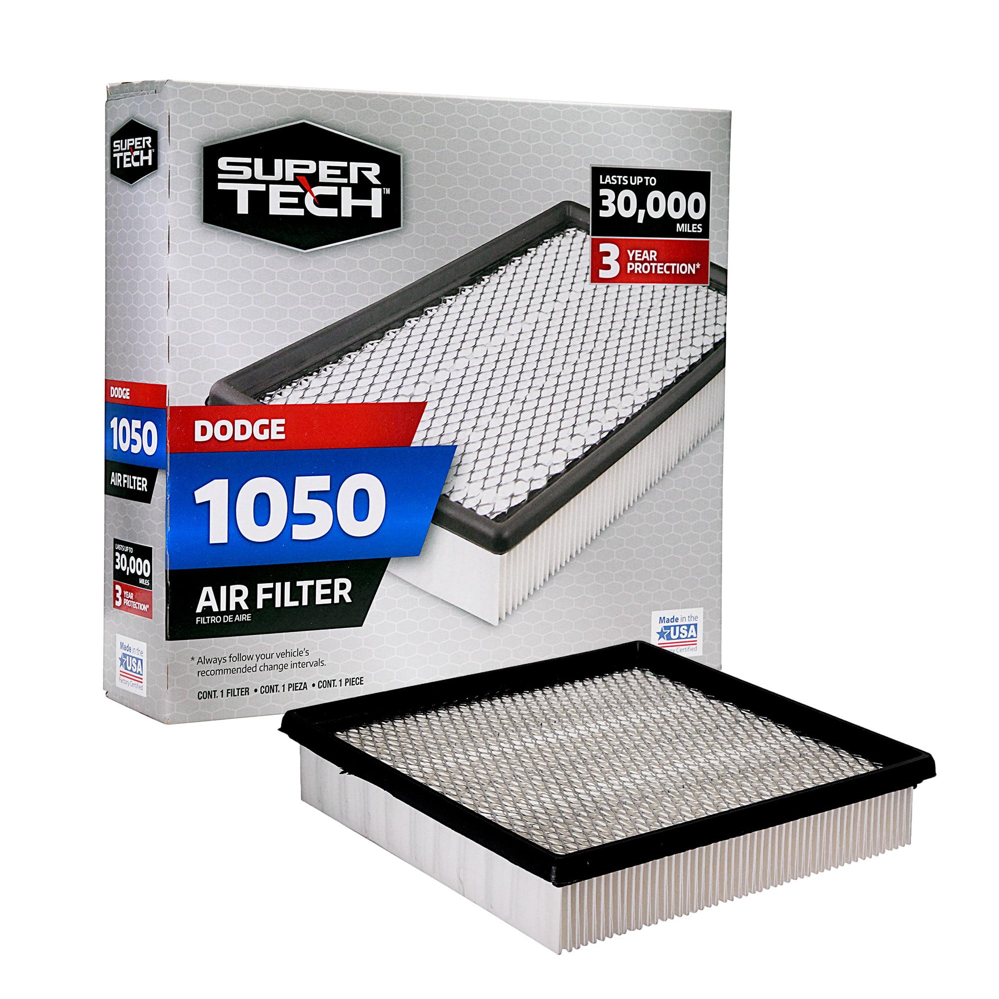 Supertech 1050 Engine Air Filter Replacement Filter For Chrysler Or Dodge Walmart Com Walmart Com