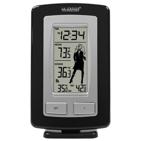 WS-9760U-IT-CBP wireless forecast station with advanced icon, Wireless outdoor temperature (°F) By La Crosse Technology From USA (Weather Forecast F)