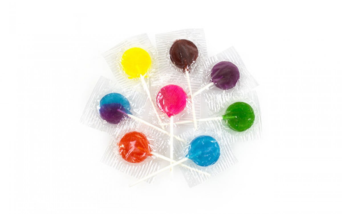 Assorted Lollipops Bulk, 5 lbs by Washburn Candy Company