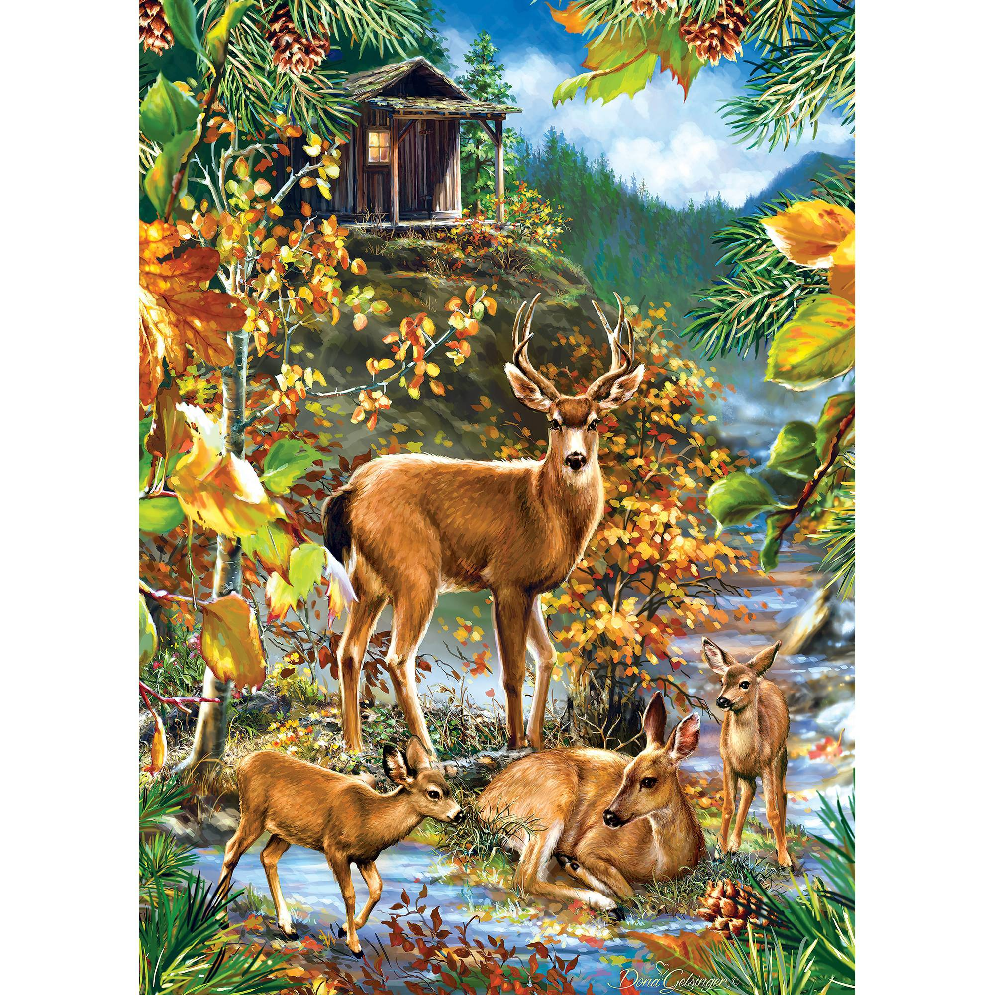 MasterPieces Family Gathering 1000 Piece Puzzle 71534
